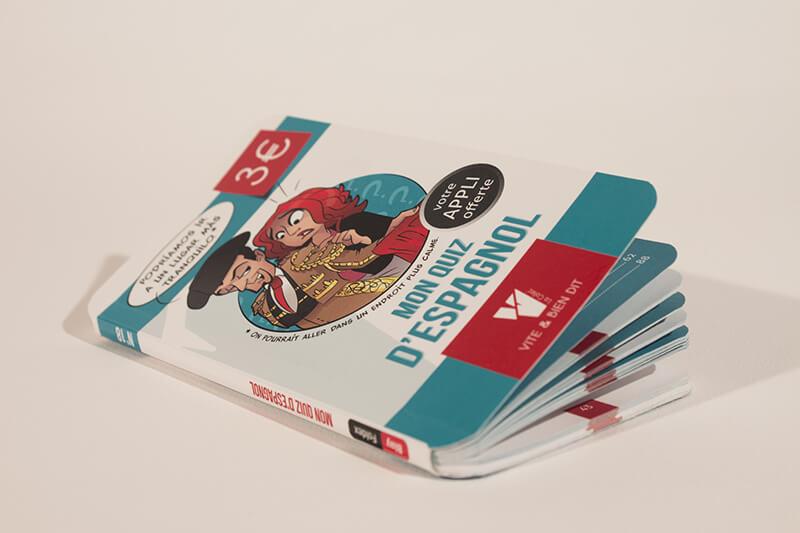 Broschüre oder Pappbände mit abgerundeten Ecken